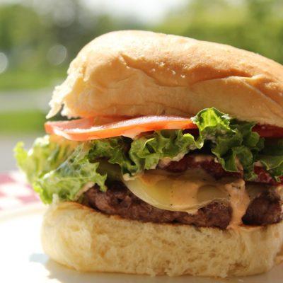 Thursday & Saturday Special Burger Night