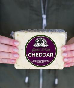 garlic and dill cheddar cheese