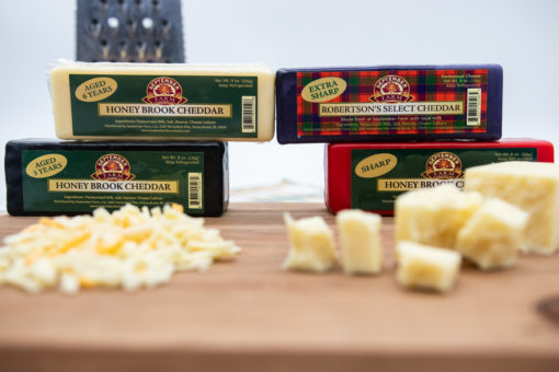 four ages of cheddar