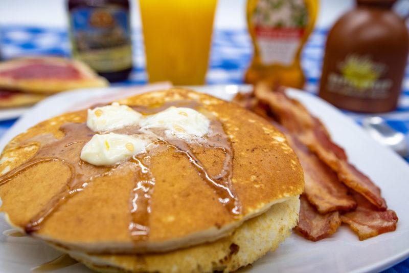 fresh pancake made by september farm