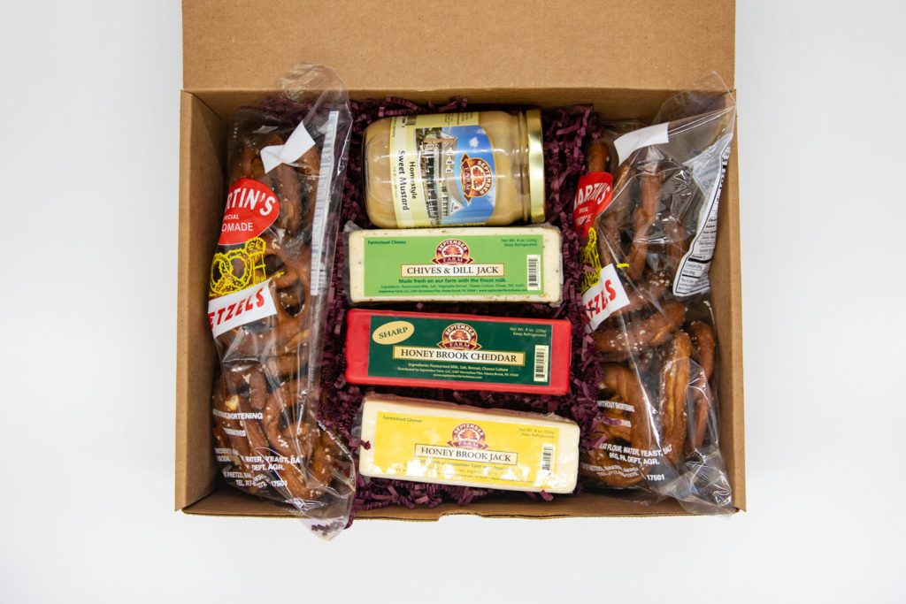 Pretzel And Cheese Gifts