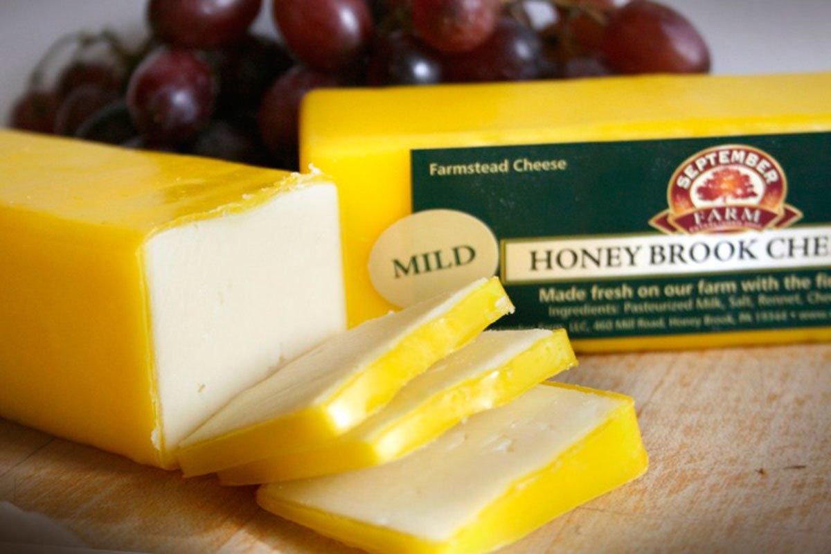 honey brook mild cheddar cheese