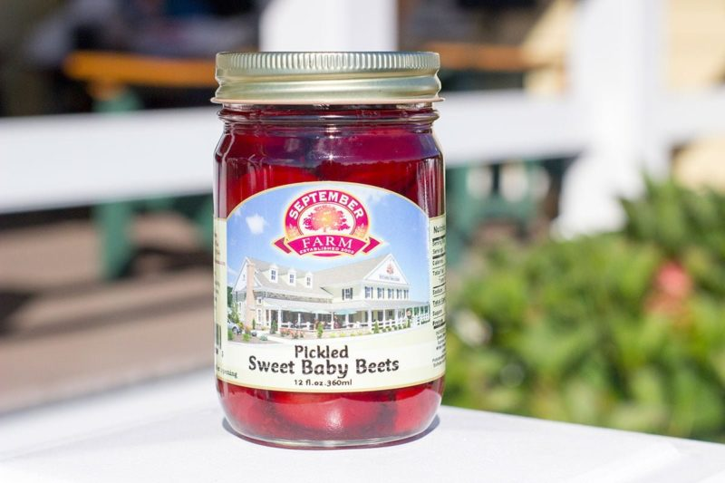 Pickled Sweet Baby Beets
