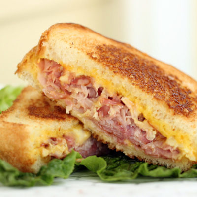 Toasted Ham & Cheese Sandwich