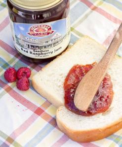 Seedless Red Raspberry Jam