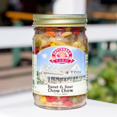 Sweet & Sour Chow Chow