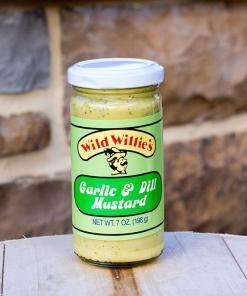 Wild Willie's Garlic & Dill Mustard